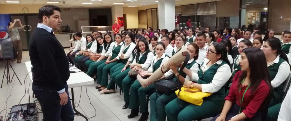 """Capacitaciones """"Todos somos la gran familia Teletón"""" llegan a San Pedro Sula de la mano de Banco de Occidente"""