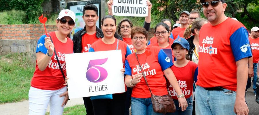Voluntarios Teletón llenan de solidaridad y amor las calles de Honduras